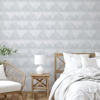 Picture of Blue Mountain Peak String Peel and Stick Wallpaper