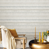 Picture of Grey Dhurrie String Peel and Stick Wallpaper