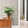 Picture of Taupe Dhurrie String Peel and Stick Wallpaper