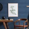 Picture of Indigo Crossweave String Peel and Stick Wallpaper