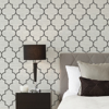 Picture of Black Hudson String Peel and Stick Wallpaper