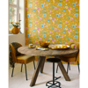 Picture of Good Evening Yellow Floral Garden Wallpaper