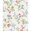 Picture of La Majorelle White Ornate Floral Wallpaper