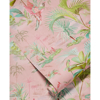 Picture of Calliope Pink Palm Scenes Wallpaper