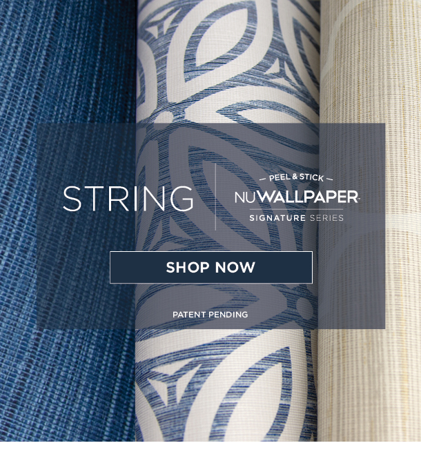 String Peel and Stick Wallpaper