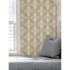 Picture of Majesty Geo Gold Peel and Stick Wallpaper