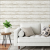 Picture of White Washed Plank Peel and Stick Wallpaper