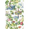 Picture of Bloom Shantung Garden Scalamandre Self Adhesive Wallpaper