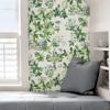 Picture of Verdance Shantung Garden Scalamandre Self Adhesive Wallpaper