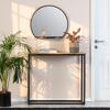 Picture of Evi Black Shelf Mirror