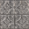 Picture of Camden Antique Silver Faux Tin Peel and Stick Backsplash Tiles