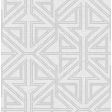 Picture of Kachel Grey Geometric Wallpaper