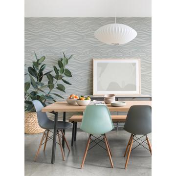Picture of Chorus Seafoam Wave Wallpaper
