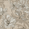 Picture of Selene Gold Mucha Floral Wallpaper
