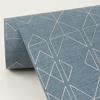 Picture of Paititi Denim Diamond Trellis Wallpaper
