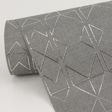 Picture of Paititi Sterling Diamond Trellis Wallpaper