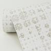 Picture of Celeste Platinum Geometric Wallpaper