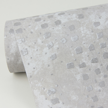 Picture of Felsic Silver Studded Cube Wallpaper
