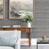 Picture of Rakasa Pewter Distressed Stripe Wallpaper