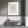 Picture of Artemis Pewter Floral Damask Wallpaper