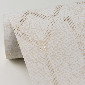 Picture of Ziva Cream Trellis Wallpaper