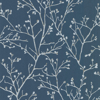 Picture of Koura Sapphire Budding Branches Wallpaper