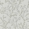Picture of Koura Platinum Budding Branches Wallpaper