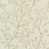 Picture of Koura Gold Budding Branches Wallpaper