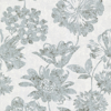 Picture of Kala Light Blue Floral Wallpaper