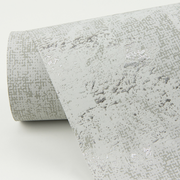 Picture of Kala Platinum Floral Wallpaper