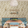Picture of Kala Gold Floral Wallpaper