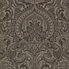 Picture of Artemis Espresso Floral Damask Wallpaper