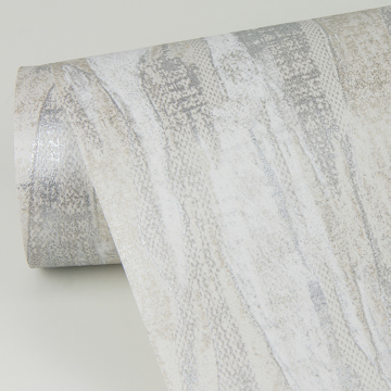 Picture of Suna Silver Woodgrain Wallpaper