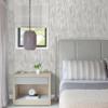 Picture of Suna Silver Woodgrain Wallpaper