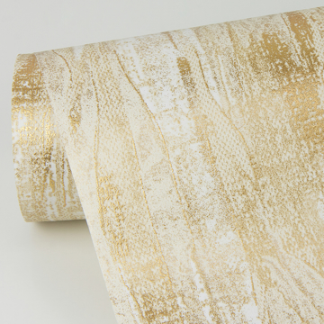 Picture of Suna Gold Woodgrain Wallpaper