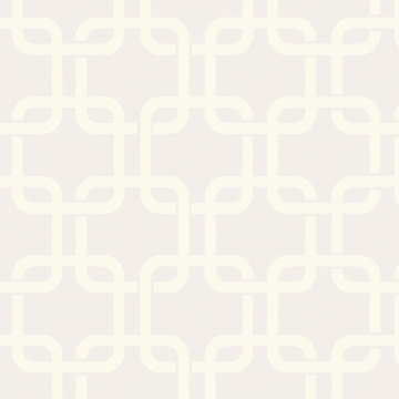 Picture of Waldorf Ivory Flocked Links Wallpaper