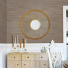 Picture of Liaohe Bronze Grasscloth Wallpaper