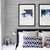 Picture of Baishin Silver Grasscloth Wallpaper