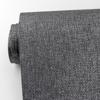 Picture of Erdene Charcoal Paper Weave Wallpaper