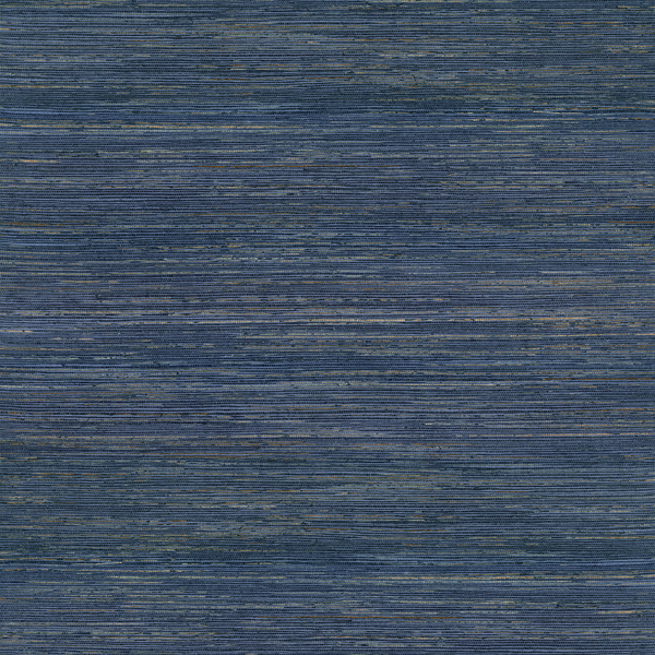 Picture of Pattini Indigo Grasscloth Wallpaper