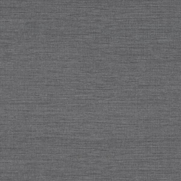 Picture of Essence Dark Grey Linen Texture Wallpaper