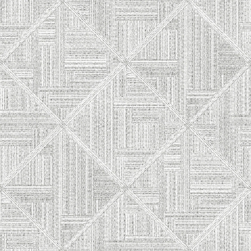 Picture of Cade Grey Geometric Wallpaper