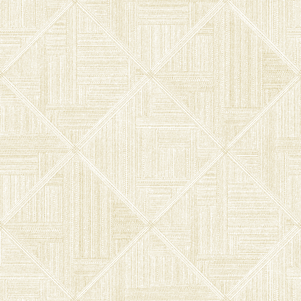 Picture of Cade Yellow Geometric Wallpaper