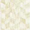 Picture of Demi Yellow Distressed Wallpaper