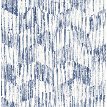 Picture of Demi Indigo Distressed Wallpaper