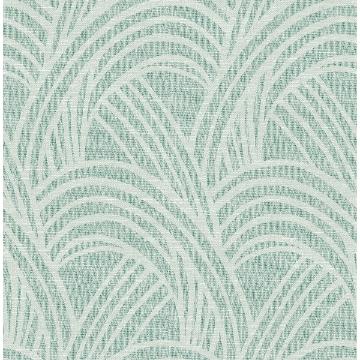 Picture of Farrah Green Geometric Wallpaper