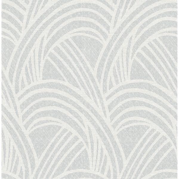 Picture of Farrah Grey Geometric Wallpaper