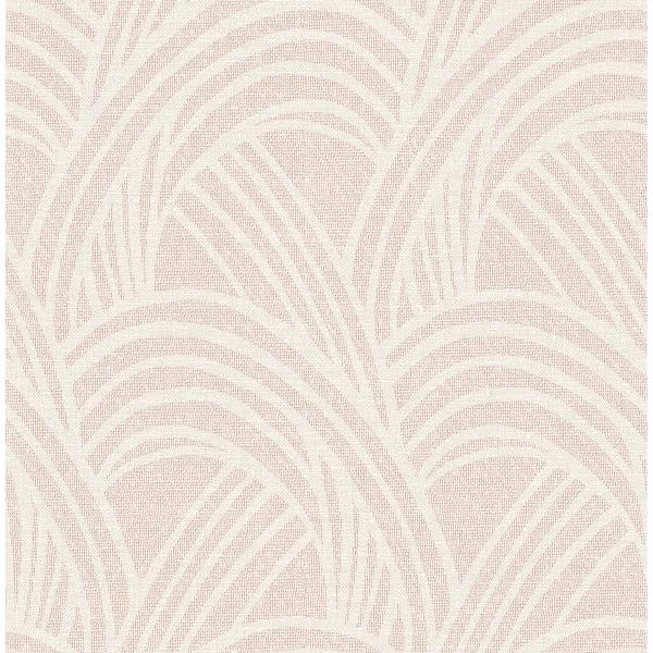 Picture of Farrah Blush Geometric Wallpaper