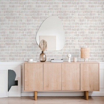 Picture of Brynne Blush Watercolor Wallpaper