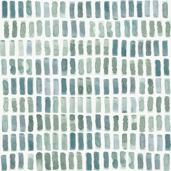 Picture of Brynne Green Watercolor Wallpaper